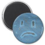 Sad Face Magnet Refrigerator Magnet