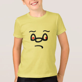 Sad Face on t-shirt
