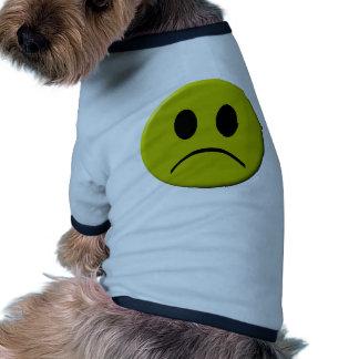 Sad Face Ringer Dog Shirt