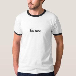 Sad face. T-Shirt