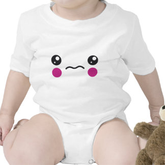 Sad Face Baby Bodysuits