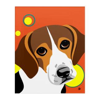 Sad Faced Beagle Art