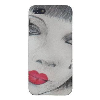 Sad Female Mime iPhone 5/5S Covers