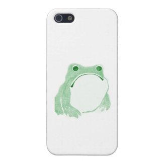 Sad Frog iPhone 5/5S Cases