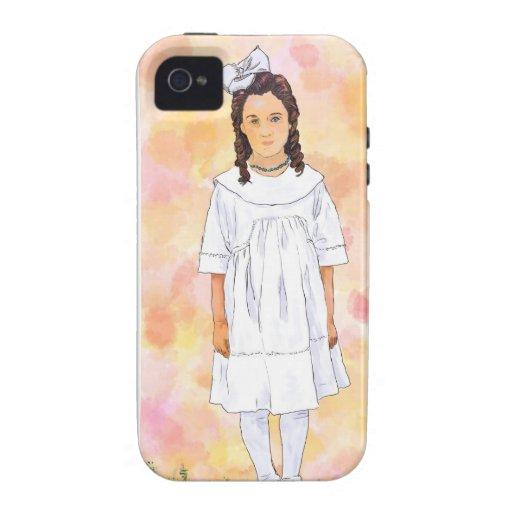 Sad girl iPhone 4 case