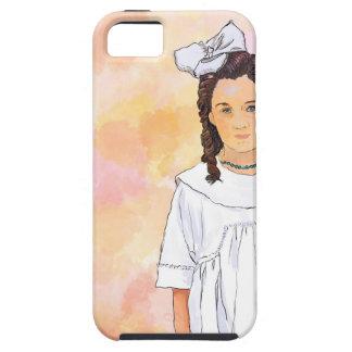 Sad girl iPhone 5 cover