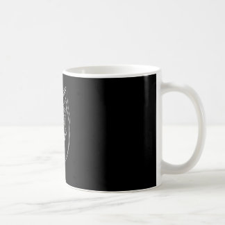 Sad Girl Mug in Black