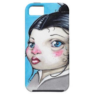 Sad Girl Tough iPhone 5 Case