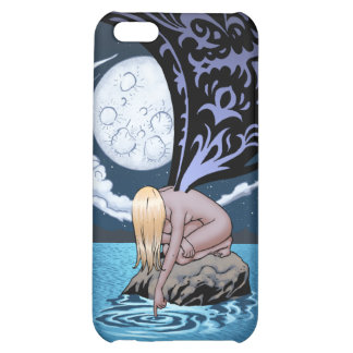 Sad Gothic Fairy in the Moonlight by Al Rio Cover For iPhone 5C