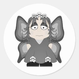 Sad Gothic Princess Fairy Stickers