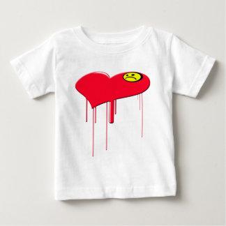 Sad Heart and Sad Face Tshirt
