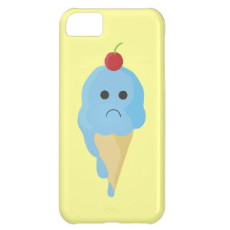 Sad Ice Cream Cone iPhone Case iPhone 5C Cases
