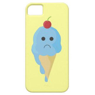 Sad Ice Cream Cone iPhone Case iPhone 5 Cases