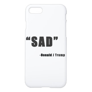 """Sad"" iPhone 7 case"