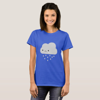 Sad Kawaii Rain Cloud T-Shirt
