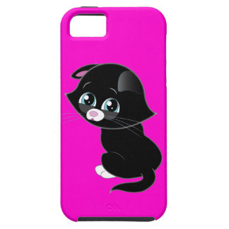 Sad Kitten iPhone 5 Cover