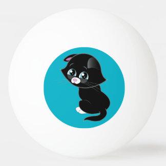Sad Kitten Ping Pong Ping Pong Ball
