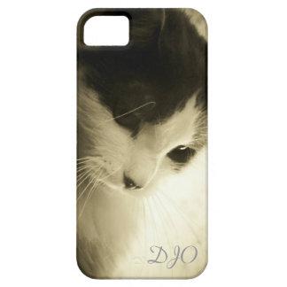 Sad Kitty Face iPhone 5 Case