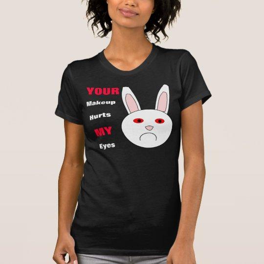 Sad Lab Rabbit T Shirt