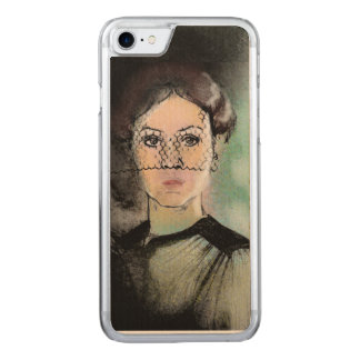 Sad Lady Carved iPhone 8/7 Case