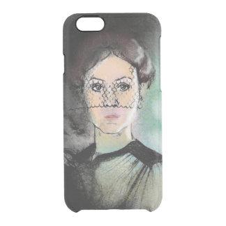 Sad Lady Clear iPhone 6/6S Case