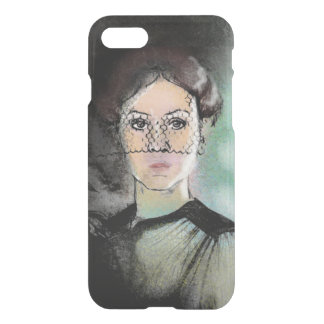 Sad Lady iPhone 7 Case