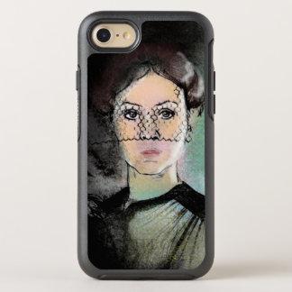 Sad Lady OtterBox Symmetry iPhone 7 Case
