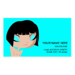 sad layla pack of standard business cards