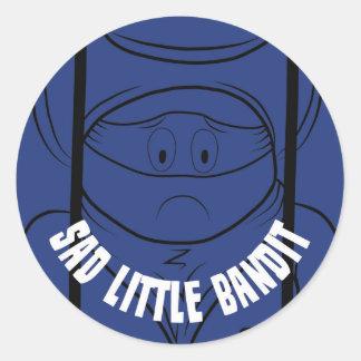 Sad Little Bandit Sticker