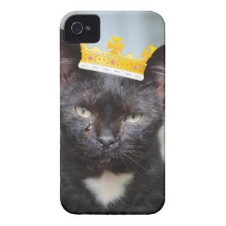 sad little Prince Kittie iPhone 4 Case-Mate Cases