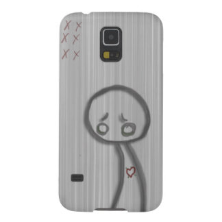 sad man galaxy s5 case