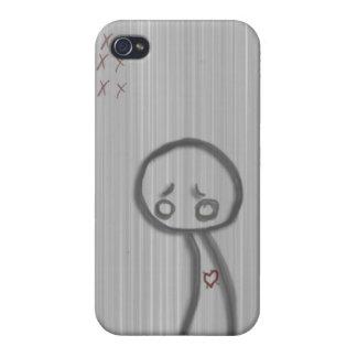 sad man iPhone 4/4S cases