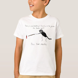 Sad Monkey Bomb Squad T-Shirt