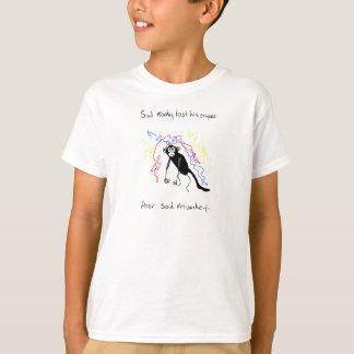 Sad Monkey Lost His Crayons T-Shirt