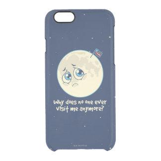 Sad Moon Clear iPhone 6/6S Case