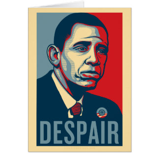 Sad Obama Birthday Card