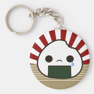 Sad Onigiri Keychains