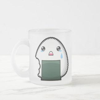 Sad Onigiri Mugs