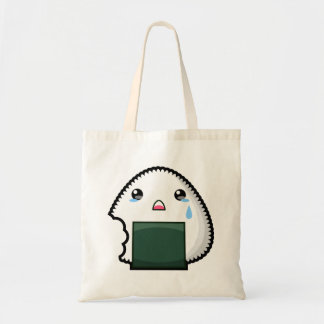 Sad Onigiri Tote Bag