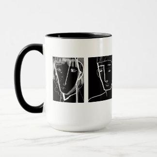 Sad pair mug