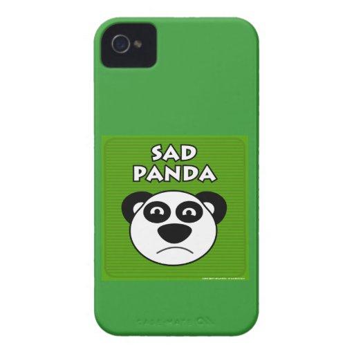 Sad Panda iPhone 4 Cases