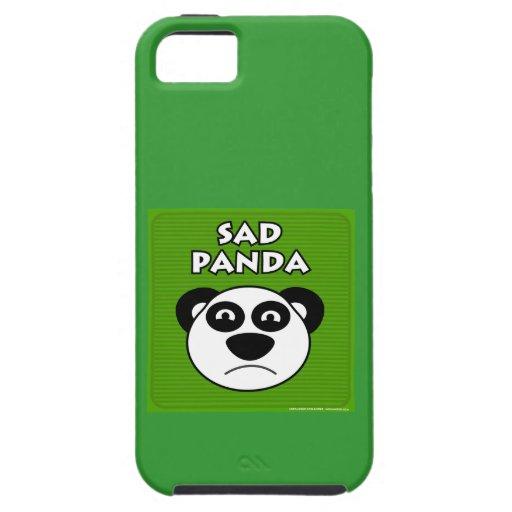 Sad Panda iPhone 5/5S Cover