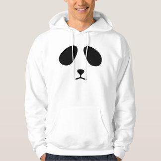 Sad panda face hoodie