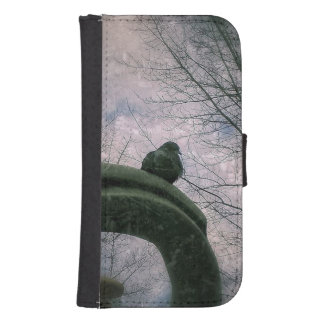 Sad pigeon samsung s4 wallet case