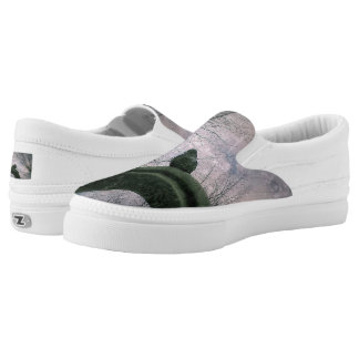 Sad pigeon slip on shoes