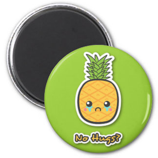 Sad Pineapple that gets no hugs Magnet