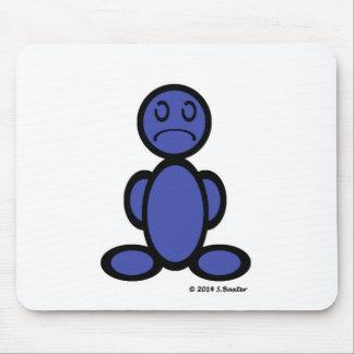 Sad (plain) mouse mat