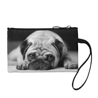 Sad Pug Coin Purse