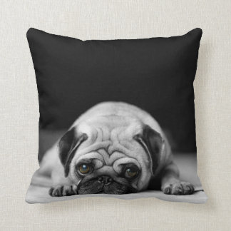 Sad Pug Cushion
