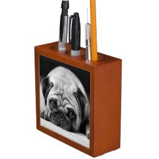 Sad Pug Desk Organiser